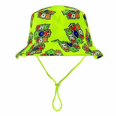 Valentino Rossi VR46 Bucket Hat The Doctor 46 Yellow 2019 KID