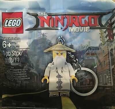 New!!! 2017 LEGO The Ninjago Movie Master Wu Keychain 5004915 SEALED!!!