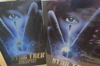 Star Trek Discovery Season 1 DVD set (USA NTSC) 4 disc set with slipcover