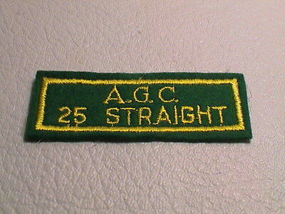 WINCHESTER TRAP SKEET 25 and 50 Straight Shooting Patches