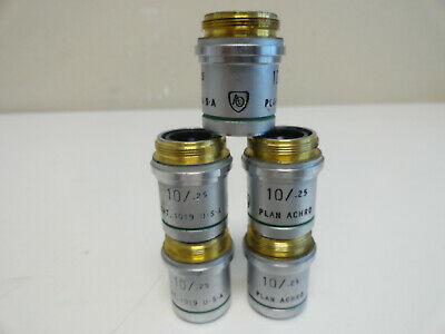 SS4: AO American Optical 10/.25 Microscope Objective CAT. 1019 - 5 Available