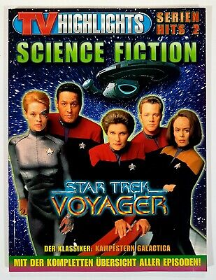 TV Highlights SCIENCE FICTION Episodeguide STAR TREK - VOYAGER dt. 144 S.