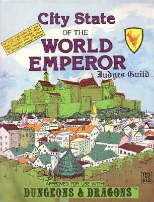 Judges Guild D&D Module City State of the World Emperor (4th Printing) SC VG+