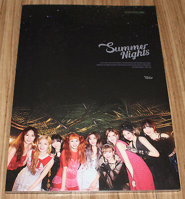 TWICE SUMMER NIGHTS 2nd Special Album C Ver. CD + PHOTOCARD SET + POSTER IN TUBE
