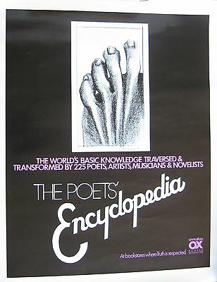 MARISOL Escobar: Poster, The Poets' Encyclopedia from Unmuzzled OX, Marisol draw
