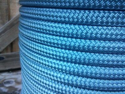 "7//16/"" x 150 ft Double Braid~Yacht Braid Polyester Rope.Herringbone.Made in USA."