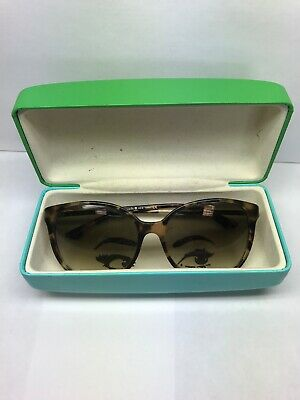 372cd3ff3534 Kate Spade Shawna/s Brown Tortoise Shell Gradient Lens Sunglasses With Case