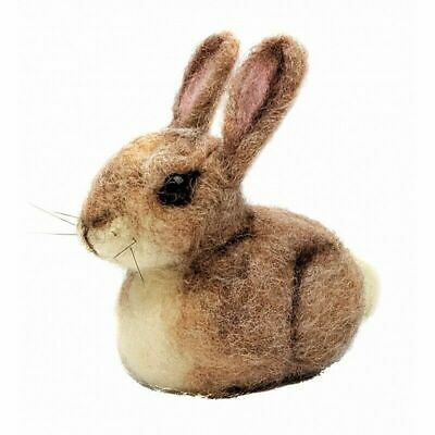 Needle Felting Kit, Baby Bunny from The Crafty Kit Company