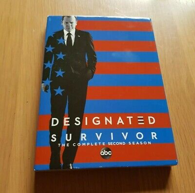 Designated Survivor Season 2 Region 1 DVD ABC Slipcover
