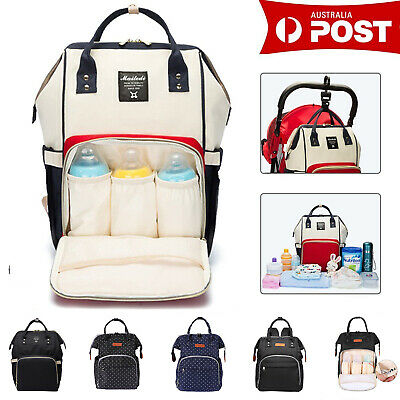 LEQUEEN Mummy Maternity Nappy Diaper Large Capacity Baby Bag Travel Backpack
