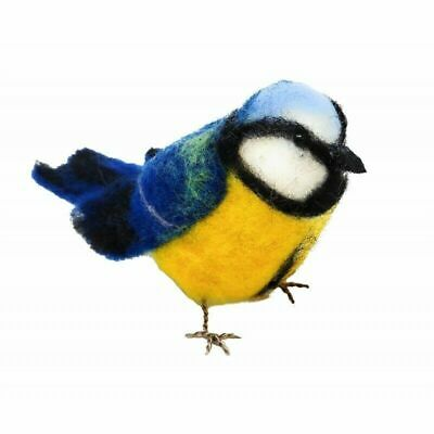 Needle Felting Kit, Blue Tit by The Crafty Kit Company