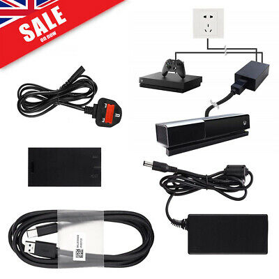 For Kinect 2.0 Sensor USB 3.0 Adapter Xbox One S/X & Win 8/8.1/10 UK Plug Stock