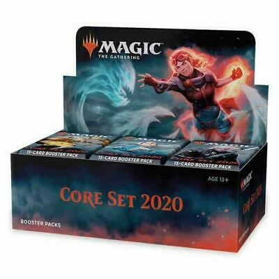 MTG Core Set 2020 Factory Sealed Booster Box Pre-Sale With Buy-A-Box Promo