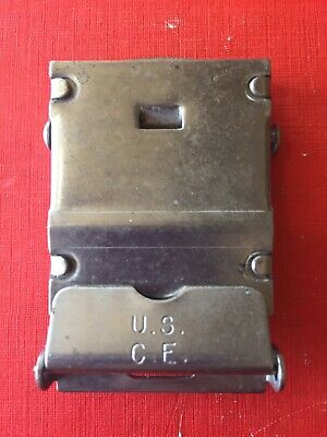 Miltary Belt Buckle United States Corp Of Engineers