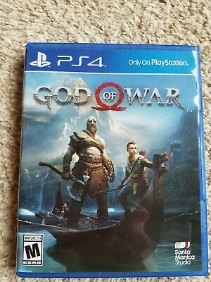 God of War (Sony PlayStation 4, 2018)  Fantastic Condition