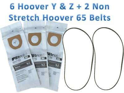 1 PACK  HOOVER WINDTUNNEL  Y VACUUM BAGS BUY 2 PACKAGES GET 1 PACKAGE FREE