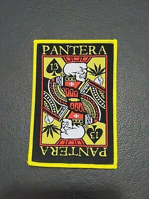 PANTERA Music band large patch t-shirts, Jeans Iron on Clothing Woven Badge
