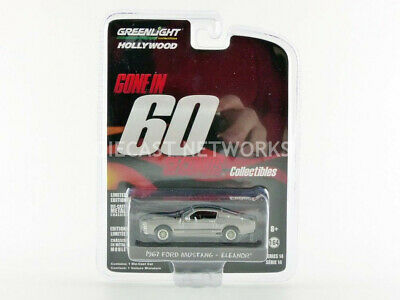 Greenlight Collectibles - 1/64 - Ford Mustang Shelby - Gt 500 Custom - Eleanor -
