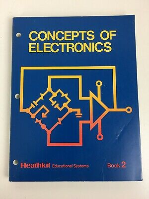 Heathkit Educational Systems Semiconductor Devices Workbook FREE SHIPPING