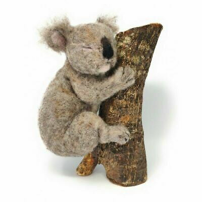 Needle Felting Kit, Sleepy Koala by The Crafty Kit Company