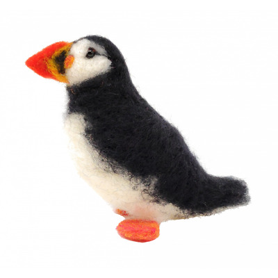 Needle Felting Kit, Atlantic Puffin by The Crafty Kit Company