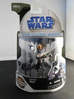 2008 Hasbro Star Wars The Clone Wars CAPTAIN REX Action Figure MOC NR-MT