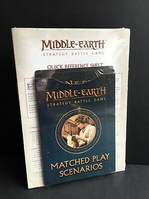 Middle Earth Strategy Battle Game Matched Play Scenarios Hobbit LOTR Fantasy GW