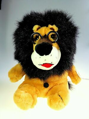 Hubert the Harris Lion Plush Toy Still Piggy Coin Bank Chicago Rare 11 Inch NWT