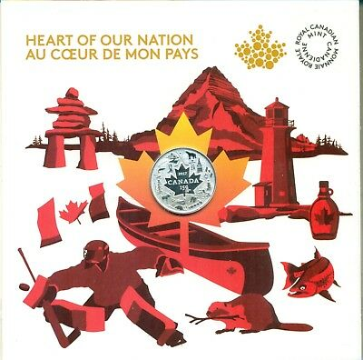 2017 Canada Heart of Our Nation $3 Pure Silver Coin 150th Anniversary