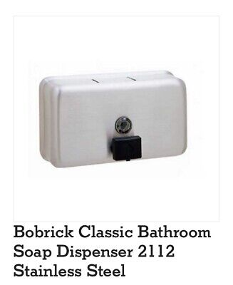 Classic Series Surface-Mounted Soap Dispenser (BOB 2112)