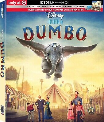 PRE-ORDER WALT DISNEY DUMBO 2019 LIVE ACTION MOVIE BLU RAY DISK ONLY