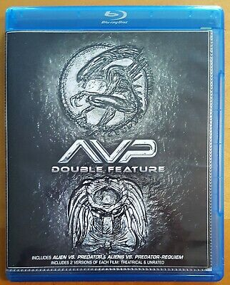 AVP Double Feature (Blu-ray) Alien vs. Predator / Aliens vs. Predator: Requiem