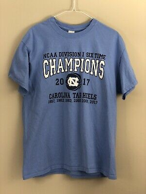 c31bd441 North Carolina Tarheels Basketball 2017 Champions T-Shirt Gildan Large LG  UNC