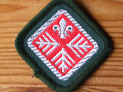 Discontinued UK Scouting 1980/'s Scout Advanced Scout Standard Badge