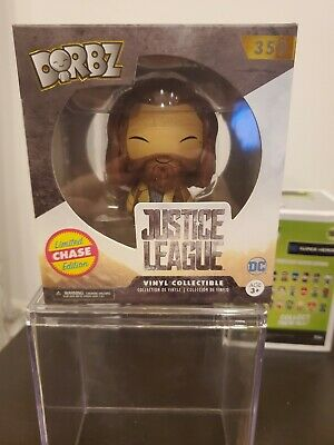 Funko Dorbz Aquaman Chase..justice League....good Condition In Protector