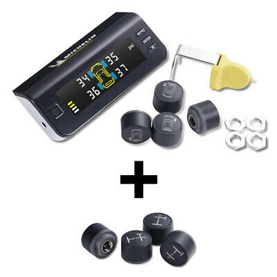 Michelin Fit2Go Car TPMS Tyre Pressure Monitoring System AND 4 Trailer Sensors