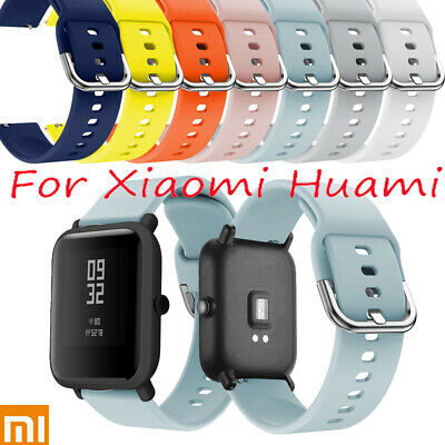 Soft Silicone Replacement Watch Band for Xiaomi Huami Amazfit Bip Youth Wrist-ca