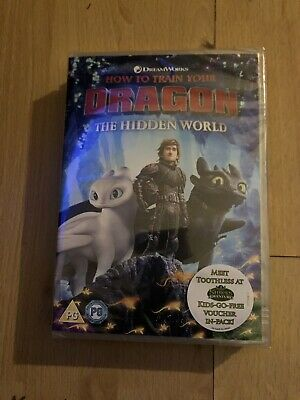 How To Train Your Dragon Hidden World DVD Brand New And In Plastic Wrapping