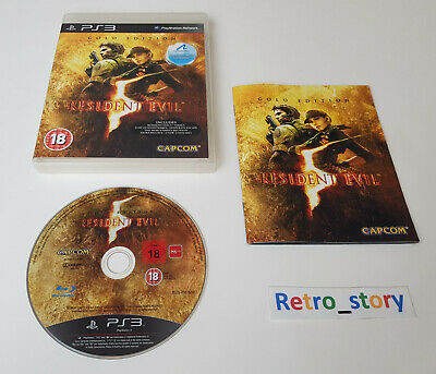 Sony Playstation PS3 - Resident Evil 5 - Gold Edition - PAL