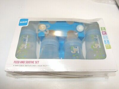 MAM Feed and Soothe Set with Easy Start Anti-Colic Bottles