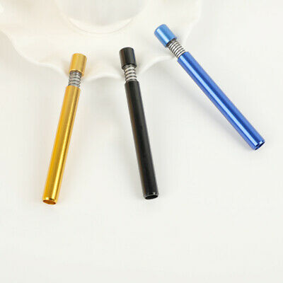 3 pack Self Cleaning One Hitter Metal Bat Tobacco Smoking Cigarette Dugout Pipe