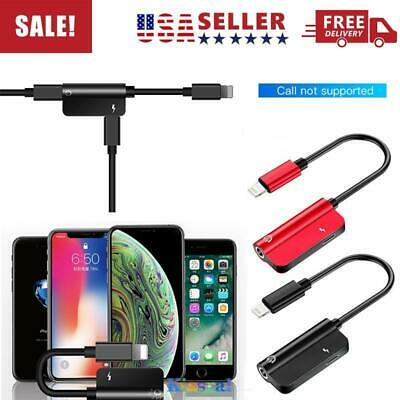 For iPhone 11/Pro/MAX AUX Adapter and Charge Cable (Charger + Headphone Adapter)