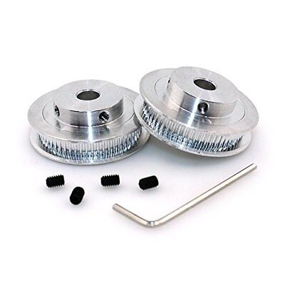 BIQU GT2 Synchronous Wheel 60 Teeth 8mm Bore Aluminum Timing Pulley for 3D Pr...