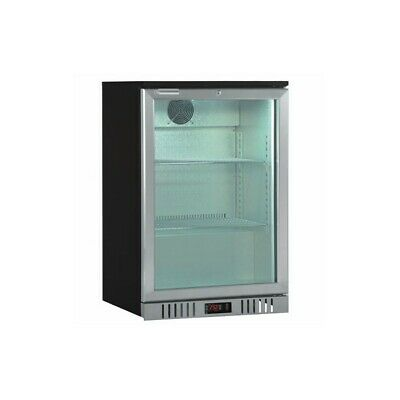 Showcase Refrigerated Back bar Series Stainless - 1 Port to Knocker