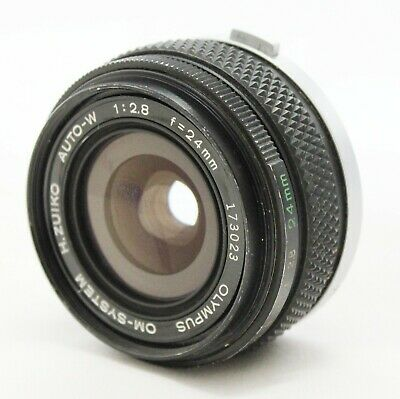 [Excellent++++] Olympus OM-System H.Zuiko Auto-W 24mm F/2.8 MF Lens from Japan