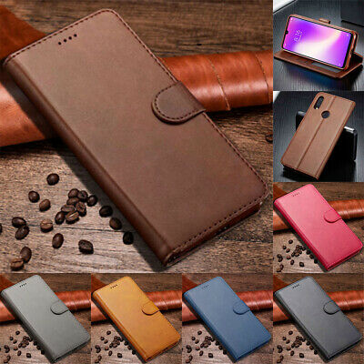 For Xiaomi Redmi 7 6A 6 Luxury Magnetic Flip PU Leather Wallet Card Case Cover