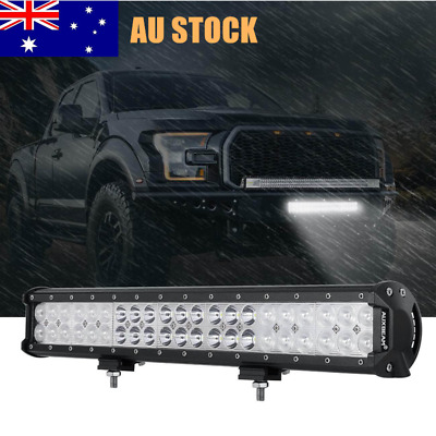 "22inch 126W CREE LED Work Light Bar Flood Spot Combo Beam Off Road 4x4WD 20"" 23"""