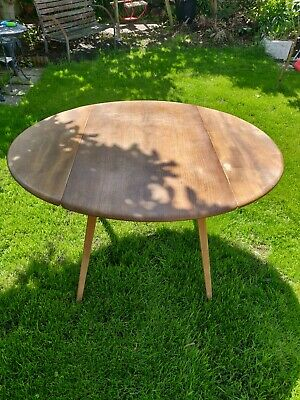 Classic Genuine Ercol Drop Leaf Dining Table
