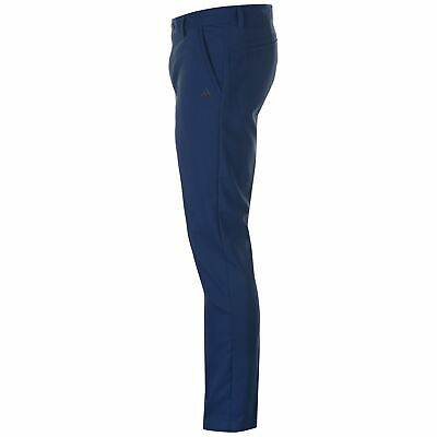 SAVE £££ Mens Adidas Golf Climalite Tech Stretch Pant Trousers Modern Fit Navy