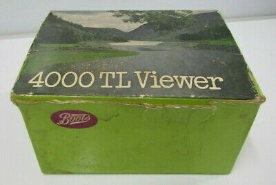 Boots 4000 TL Slide Viewer
